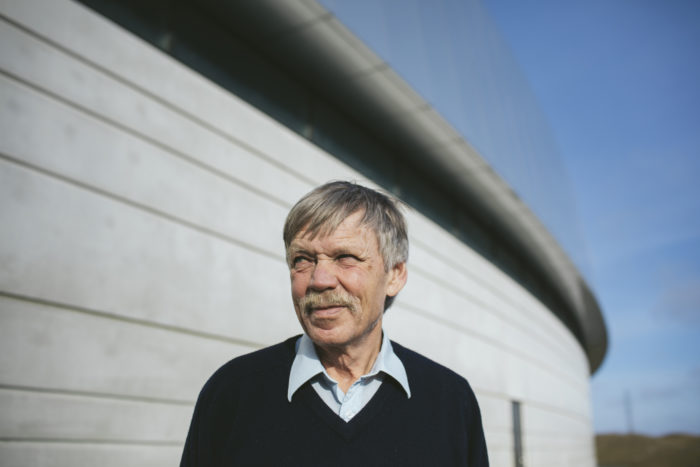 Närbild på Mikael Eriksson
