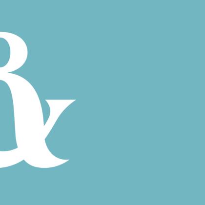Skåne logotyp på turkos bakgrund